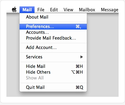 how to find incoming mail server host name